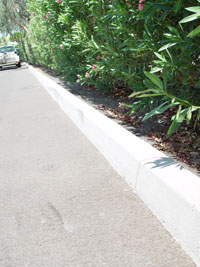 Commercial, Parking Lot Curbs