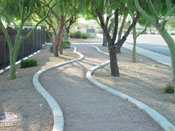 Designer Concrete Borders